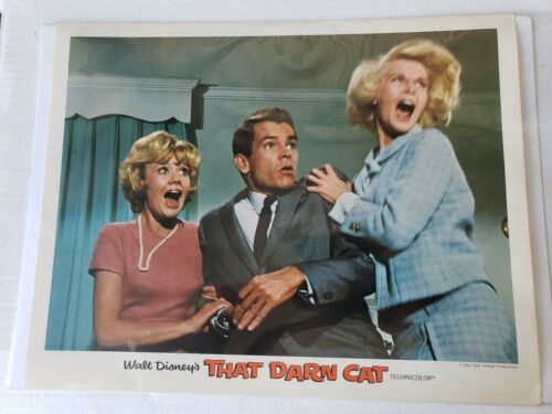 That Darn Cat Hayley Mills Dean Jones Provine Walt Disney 1965 Lobby Card 433