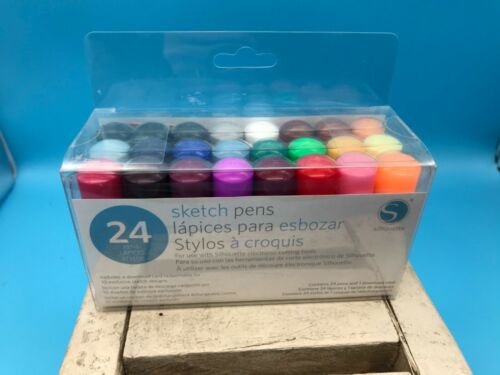 Silhouette Sketch Pens, 24 Count, New