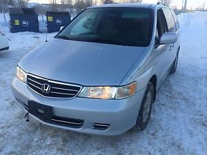 2003 Honda Odyssey Ex clean title only $5500