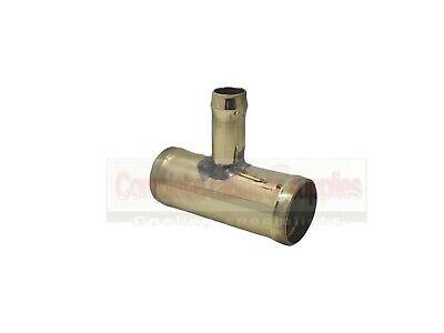 32 mm x 13 mm OD 3 Way Hose Reducer|Brass Radiator Hose Connector|Joiner