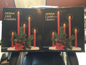 Two NOMA 5-light Candelabra (gently used). Christmas