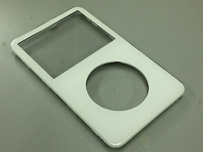 New White Front Faceplate Face Plate Cover Housing for iPod Video 5th 5.5 Gen Ipod Video Faceplates
