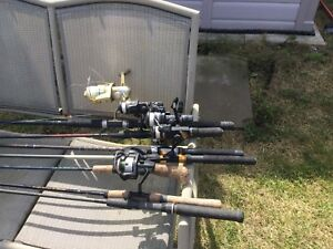 Fishing rods .Selling as a lot.