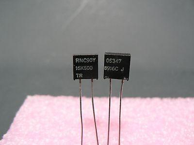 4 Pcs Vishay Dale Rnc90y Series Metal Foil Resistor Rnc90y16k500tr Us Seller