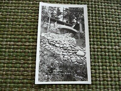 Vintage Post Card (Vintage Beebe RPPC Post Card Postcard The Crest at Walloon Lake,)