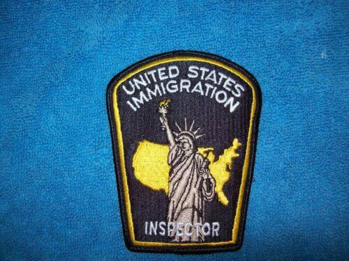 US Immigration Inspectors Patch - Obsolete