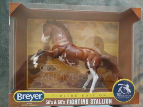 BREYER Traditional Horse #1825 Fighting Stallion 70th Anniversary NEW!