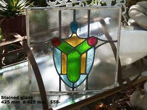Vintage Stained Glass and other items inc. lead lights ,doors etc Martin Gosnells Area Preview