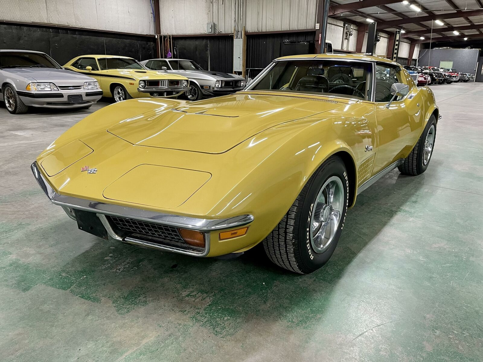 1972 Yellow Chevrolet Corvette   | C3 Corvette Photo 1