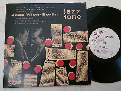 "10"" JAZZ WIEN-BERLIN Hans Koller New Jazz Stars/Helmut Brandt Combo JAZZTONE"