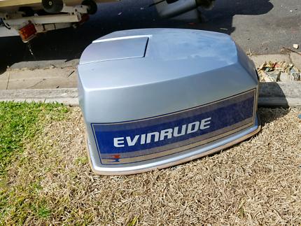 90 hp Evinrude V4 motor