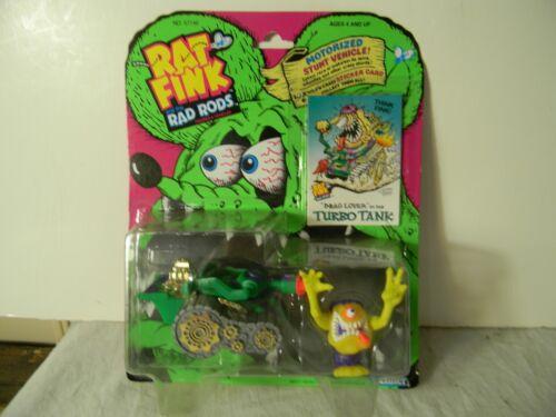 1990 KENNER BIG DADDY ED ROTH RAT FINK TURBO TANK RAD ROD MINT ON CARD