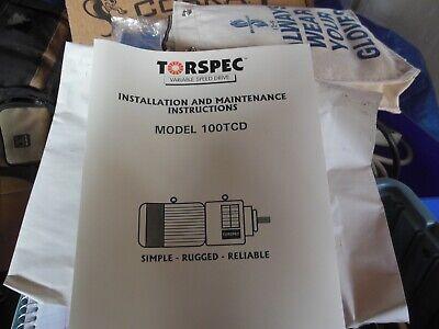 Torspec 100tcd6k Variable Speed Drive