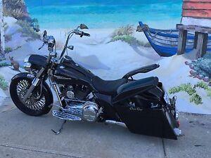 Harley Davidson Roadking Full Custom Bagger Fremantle Fremantle Area Preview