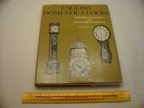 Book 1,486 - English Domestic Clocks