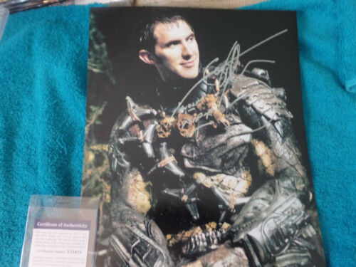 Game of Thrones MOUNTAIN Ian Whyte Autographed 11X14 close up PHOTO PSA DNA cert