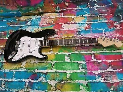 MARTIN BARRE ( JETHRO TULL ) Signed Electric Guitar LOM COA (G521)