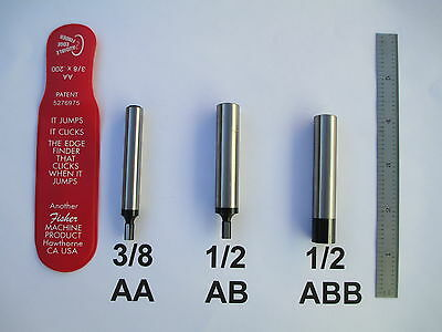Audible Edge Finder  By Fisher  3 8 Or 1 2 Shank Usa