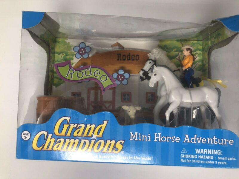Grand Champions Micro Mini Rodeo Riding Set