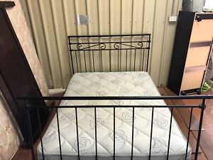 (Delivery available)double bed and mattress