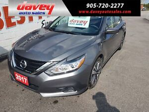 2017 Nissan Altima 2.5 SV SUNROOF, HEATED SEATS, REMOTE STARTER