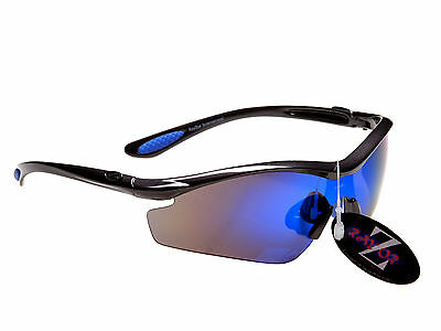 RayZor Professional Designer Uv400 Ski Cycling Sports Wrap Sunglasses RRP$89