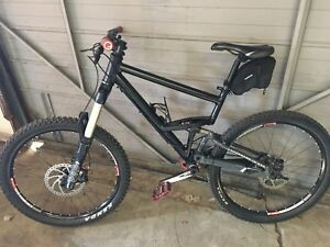 Custom Cannondale mountain bike