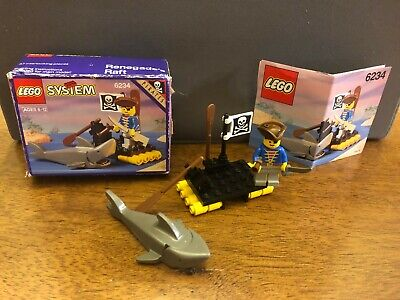 LEGO Pirates 6234 Renegade's Raft 100% Complete w/ Box & Instructions