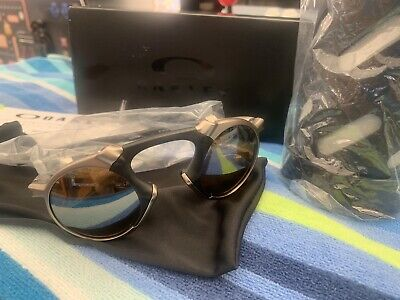 Oakley OO6019-03 Madman Plasma Tungsten Iridium Polarized Sunglasses - Bronze