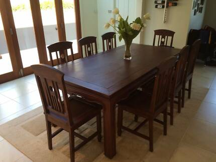 Dining Table and Chairs Bayview Pittwater Area Preview