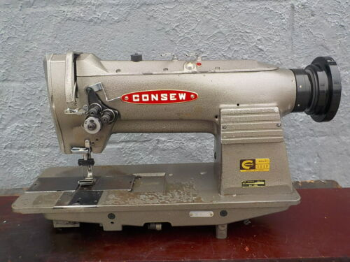 Industrial Sewing Machine Model Consew 333B two needle- Leather