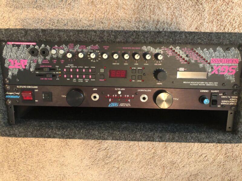 Art SGX Nightbass + Furman Tuner/Conditioner