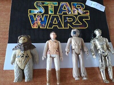 Star wars figurine vintage lot C