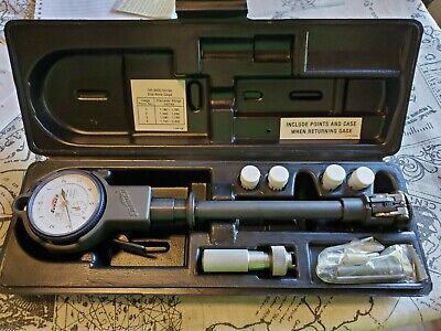 Sunnen Gr-9000 Series Dial Bore Gage With 4 Points Complete Set With Tools Great