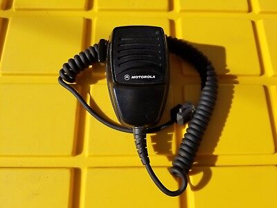 Genuine Motorola Hmn3040a Radio Remote Speaker Microphone For Mobiles Authentic