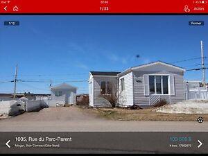 Maison mobile Baie Comeau