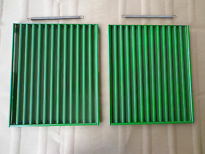 John Deere 4000 4010 4020 Front Side Screen Set Of 2 With Springs
