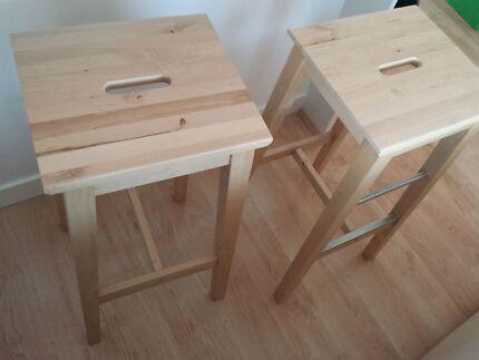 Ikea stools Lane Cove North Lane Cove Area Preview