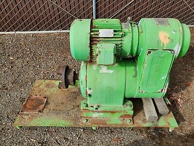 Reliance Reeves Drive 15hp 20 To 155rpm Water And Corrosion Proof 254tc 442
