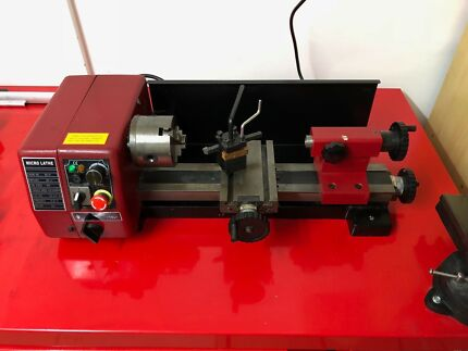 2x SIEG C1 metal lathe for the shed or workshop