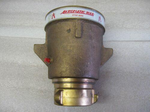 Akron Akromatic 5056 Hydraulic Stream Nozzle 1000 GMP   NOS
