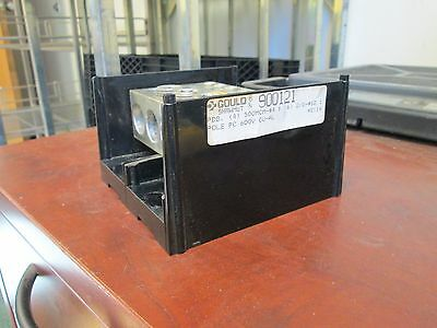 Gould Terminal Block 900121 Line 4 500mcm Load 6 210 12 Used