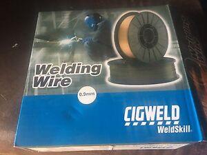 Cigweld 0.9 mm gasless welding wire Gordon Moorabool Area Preview