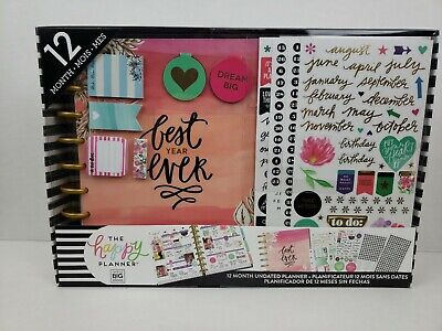 The Happy Planner 12 Month Undated Box Kit - Best Year