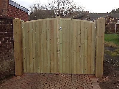driveway gates/fully pressure treated 1.8m High X 3.0m wide