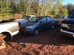 Parting Out 09 Chev Aveo