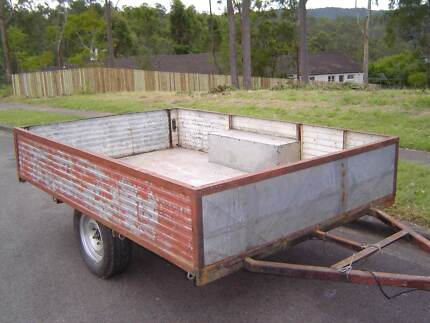 trailer with 2 spare wheels Kenmore Hills Brisbane North West Preview