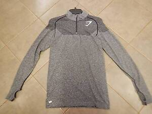 Gymshark Phantom Seamless 1/4 Zip Pullover - Charcoal (Size M) Toodyay Toodyay Area Preview