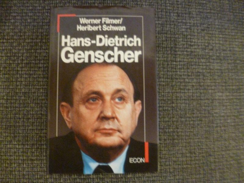 Werner Filmer / Heribert Schwan - Hans-Dietrich Genscher
