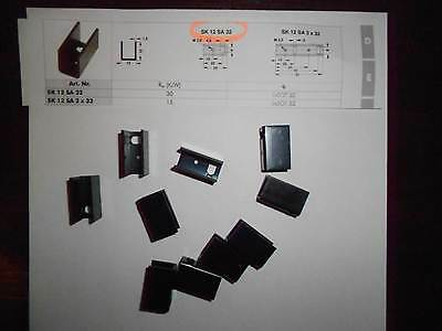 10 Stück Kühlkörper 25 x 12 x 15 mm SOT-32 Fischer Elektronik SK 12 25  SK12SA32